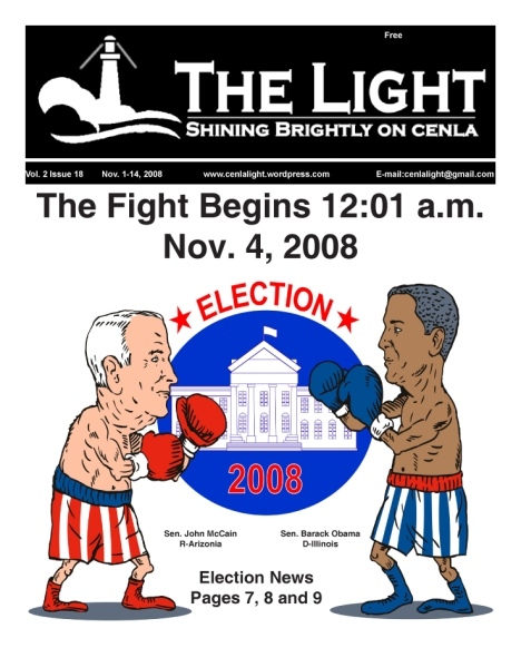 The Light, Nov. 1-14, 2008 cover