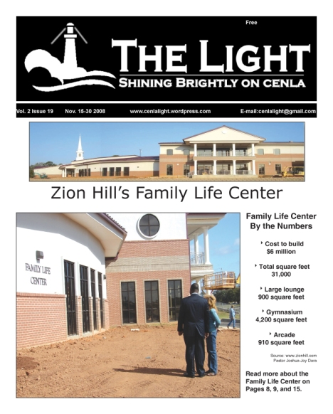 The Light's Nov. 15 cover